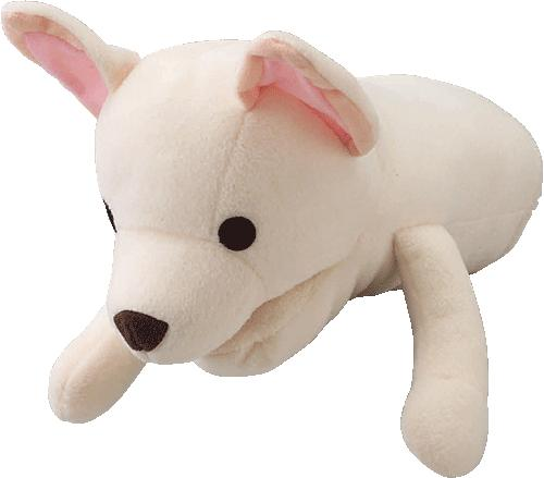 小型犬用 笛付き♪ アニマルミトン ラブドッグ [チワワ]