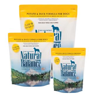 ランキングTOP5 NaturalBalance アレルギー対応主食成分限定食 ナチュラルバランス ポテト ダック 送料無料 12ポンド 5.45kg 正規品送料無料 全犬種 全年齢