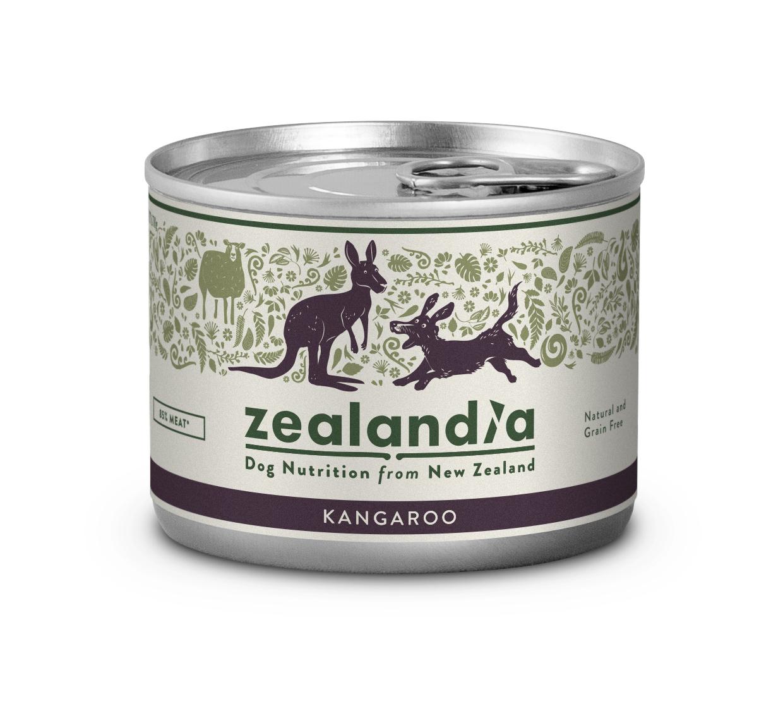 ジーランディア ドッグ缶 2020秋冬新作 オンラインショッピング 185g カンガルー