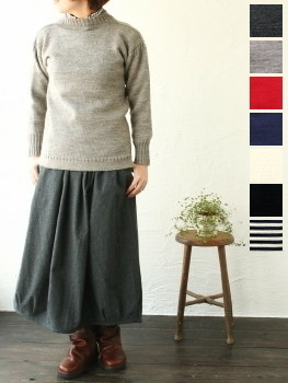 ル トリコチュール ガンジーセーター (#Traditional Wool Guernsey Sweater) Le Tricoteur(レディース)*送料無料* ***