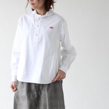 ダントン オックスフォード ショールカラー プルオーバーシャツ (JD-3564 YOX) Shirts Oxford DANTON(レディース) 【2019春夏】*送料無料* ***