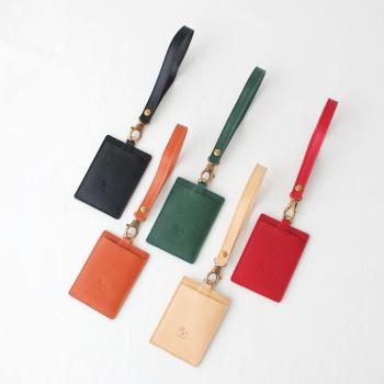 イルビゾンテ レザー パスケース (54192309790) Leather Pass Case IL BISONTE(小物) 【2019秋冬】*送料無料*  ***