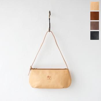 イル ビゾンテ レザーショルダーバッグ (411919) Leather Shoulder Bag IL BISONTE *送料無料*
