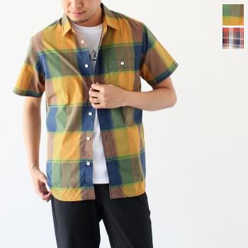 ザ ノースフェイス ショートスリーブ マドラスチェックシャツ (NR21812) S/S Madras Check Shirt THE NORTH FACE(メンズ)*送料無料****