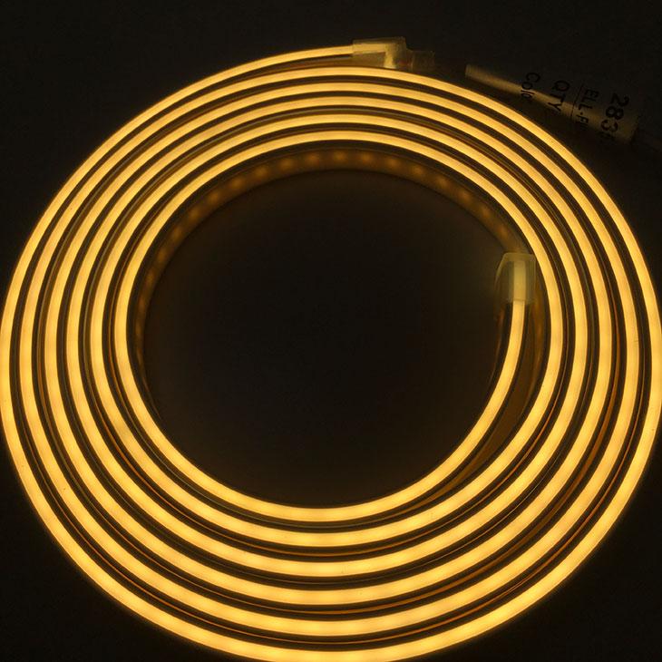 12月限定50%OFF <送料無料>LEDネオンテープライト サイドビュー シリコンチューブ ネオン 均一発光 曲がる 柔軟性 防水 IP65 2.5m DIY 間接照明 インテリア ネオンサイン 看板 サインボード 光る看板 NEON ネオン管 ネオンチューブ デコレーション