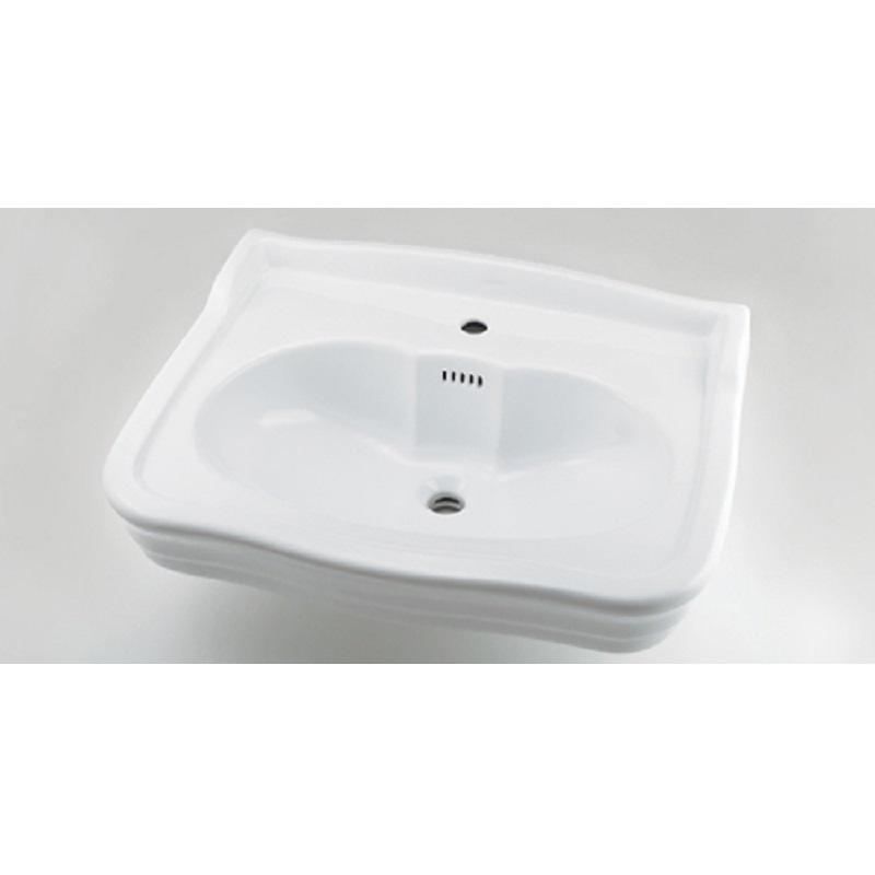 壁掛洗面器 #LY-493214 1ホール 水栓 住宅設備 水廻り 金具 カクダイ KAKUDAI 吉KD