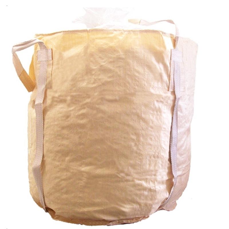 【代引不可】【10枚入】丸型 フレコンバッグ 1250KHR(POC) 1250L 耐荷重1000kg 工事 土木 米 麦 籾殻 もみがら 収穫 ふくなが