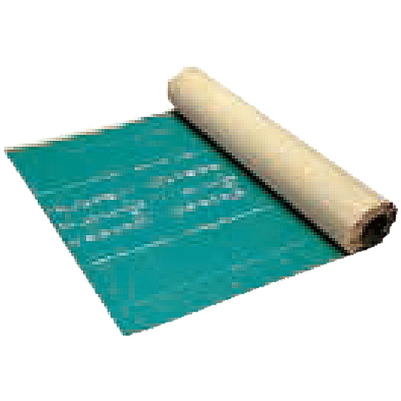 【代引不可】エコムガード 防根シート 0.06x1x17m 自着型耐根シート ラップテープ貼 ガーデン シート YAMAZAKI B林