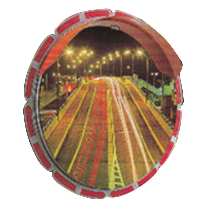 【ミラーのみ】 ひまわり ミラー 丸型 HA-2 直径800 裏面 亜鉛鋼板 道路 反射鏡 シンコーミラー アミD