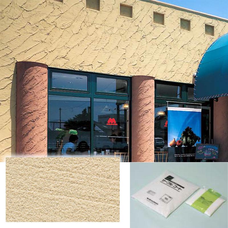 【代引不可】【3袋入】砂岩調 サーブルコート SBC 外壁専用 外装塗材 Dワ