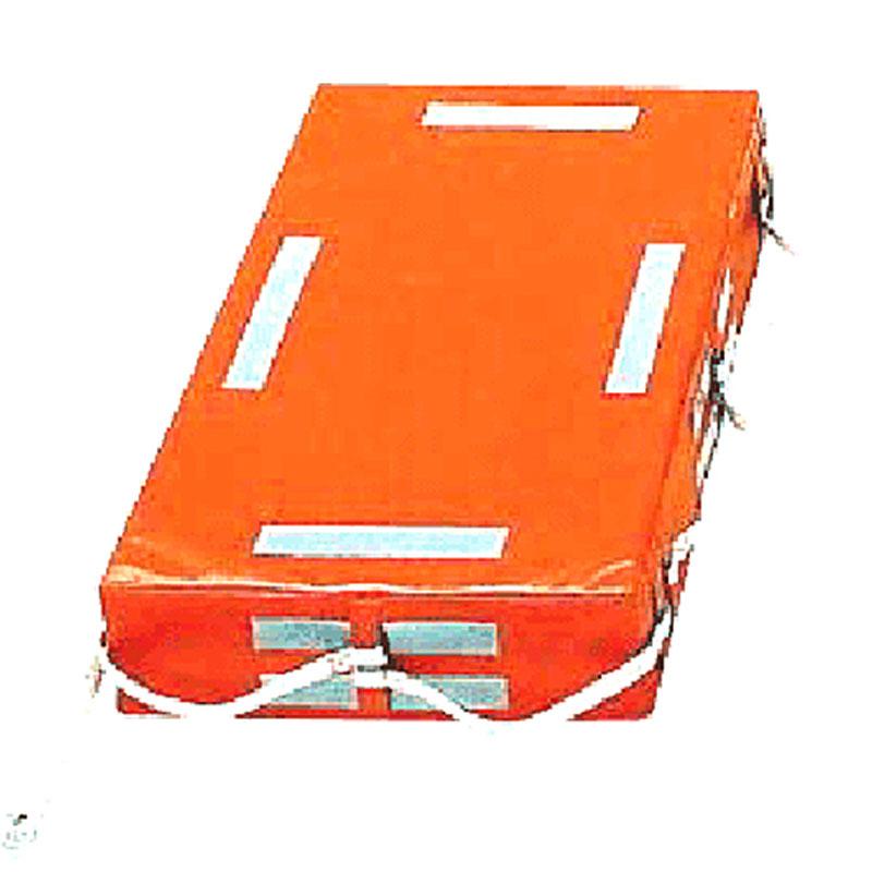 小型船舶用救命浮器 TKF-8 オレンジ 救命用 浮き 国土交通省型式承認 高階 コTD
