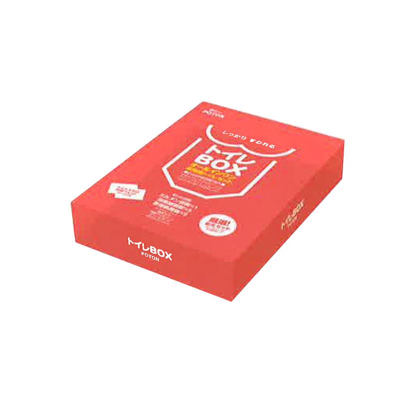 【代引不可】【10個入】災害用 備蓄 簡易 便器 トイレボックス 個人用 断水 トイレ処理セット Mylet コT