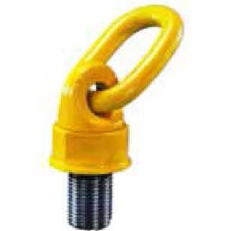 宅配 回転式アイボルト スイベルポイント 0.6t用 呼び M12 イエローポイント 運搬 荷揚げ 吊具 Yellow Point コT, ニセコ町 91421235