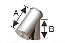 溶接煙突 断熱材入り 二重 T曲 135度 直径120x175 No.501113047 煙突 部材 ホンマ製作所 T野D