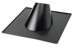 耐久性を兼ね備えた 屋根用フラッシングです 黒 ステンレス フラッシング 40%OFFの激安セール 5-15度 直径200mm用 流行のアイテム No.18008 部材 T野 煙突 T野D ホンマ製作所 D 4643