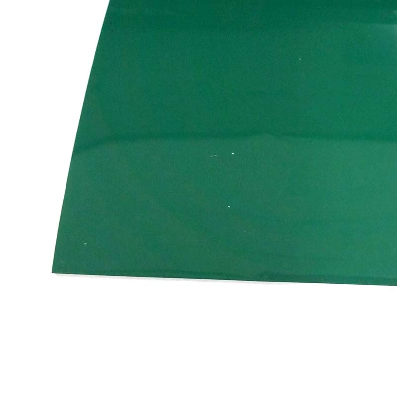 塩ビマット 平 艶 緑 915×20m ワニ印 日大工業 養生シート 日本製 難燃性 カSD