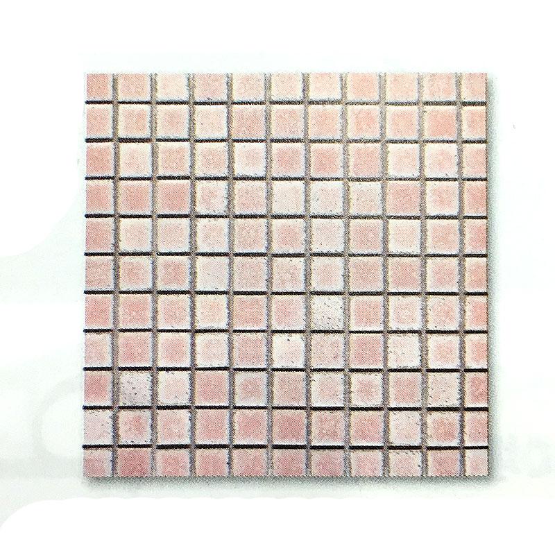 【代引不可】【10シート入】 エコザイル ピンク タイル 内装 外装 壁材 建材 ケース 参創ハウテック
