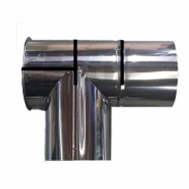 ※ラッピング ※ 薪ストーブ用煙突 150mm T曲 ステンレス煙突 シングル イチカワ 新入荷 流行