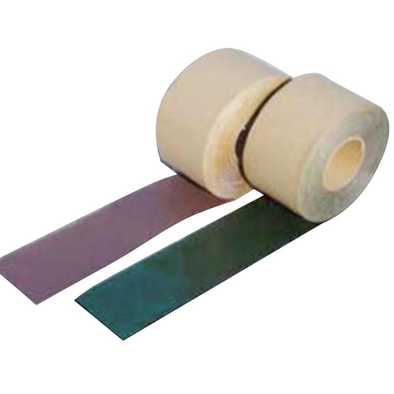 【代引不可】【2個パック】 粘着 テープ 雑草 防止 防草 10cm x 50m ブラウン シバ