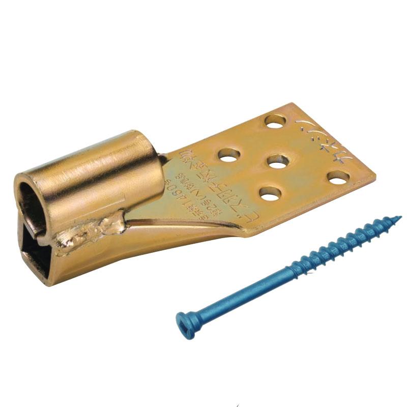【100個入】 ビス羽子板金物 B-CH 接合 梁 柱 木材 建築 資材 カネシン アミD