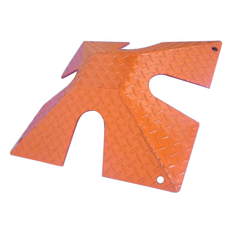 ホースカバー ホースガード ホース用 養生 ジョイント 保護 耐荷重 3t 鈴文H