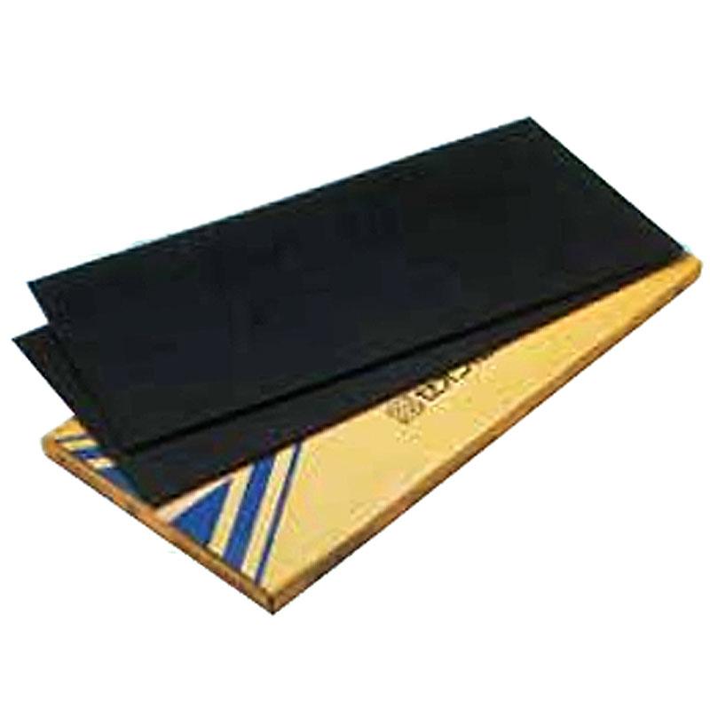 特殊アスファルトに金属粉を充填で制振効果抜群 代引不可 個人宅配送不可 8枚 サンダム サンダンパー A40 遮音材 防音材 安心の定価販売 上品 制振材 ZEON 本州以外送料別途 磐k 4mmx455mmx910mm 床材 下地