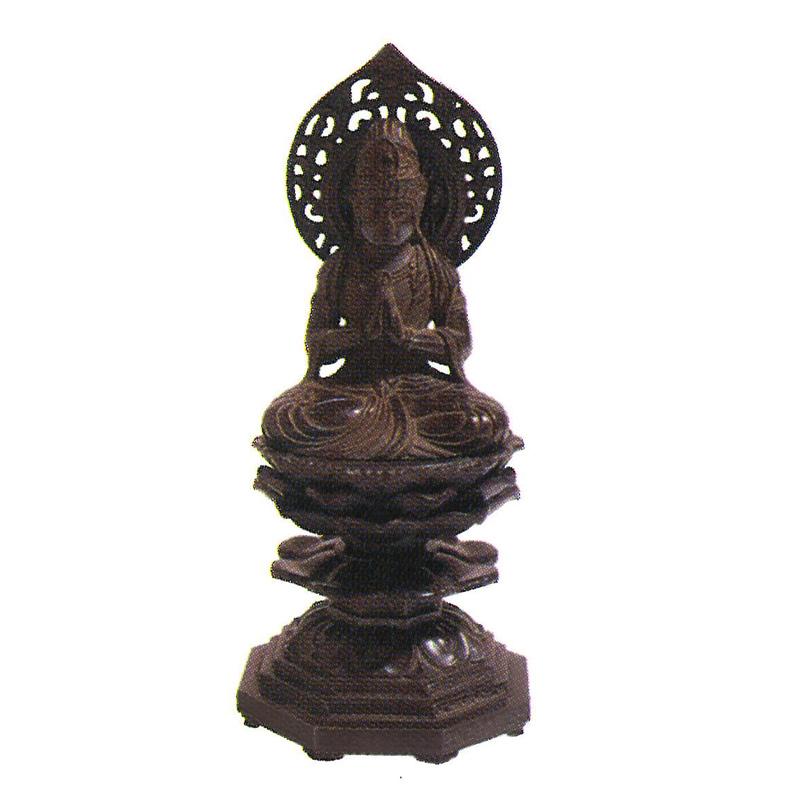 仏像 勢至菩薩 古美茶 HA-BU-004 午年 生まれ の方に ご本尊 仏具 仏壇 供養 日本製 ハK 代引不可