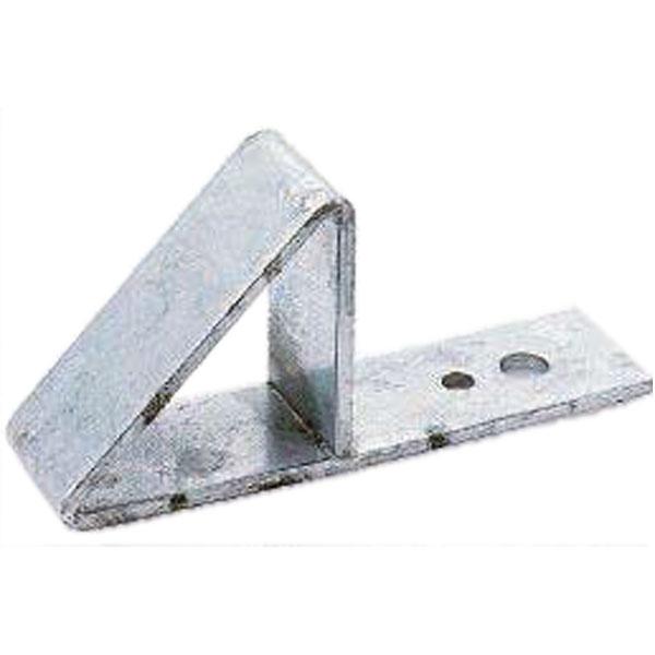 【納期約2週間】【80個】 雪止金具 三角型ボルト折板用 R-27 ステン304 段付 雪止め アミD