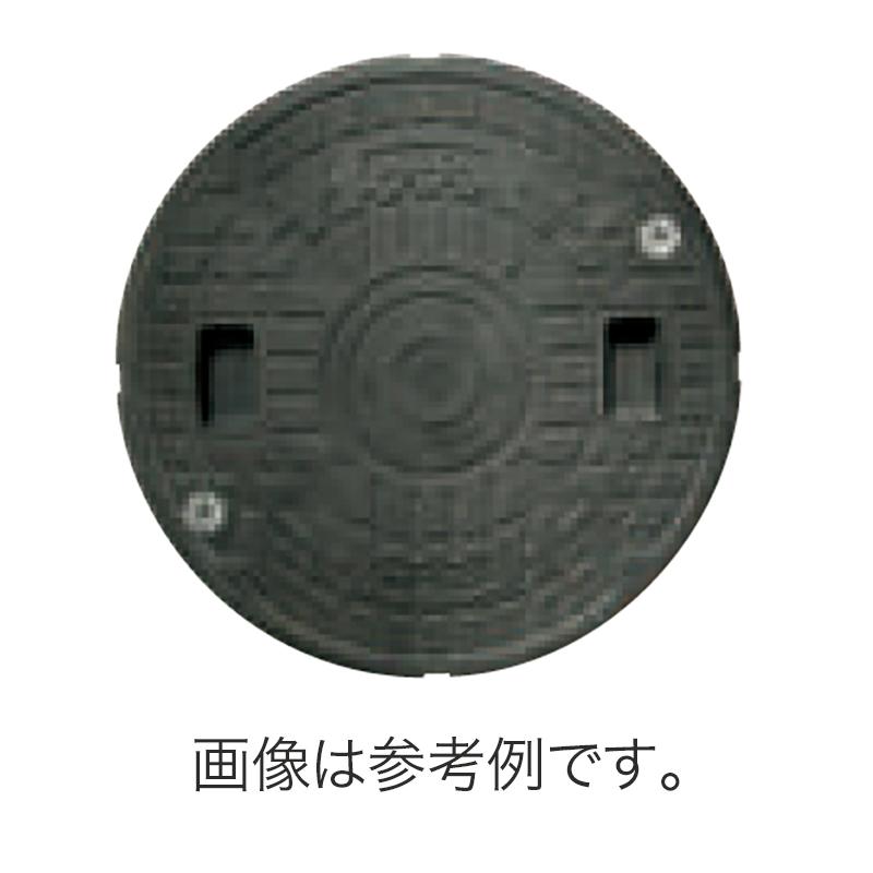 【代引不可】【配送条件あり】【2枚】 耐圧マンホールカバー(T-4) 500型ロック付 ブラック JT4-500C-1 耐候性 耐久性 耐薬品性 JOTO 城東テクノ アミ