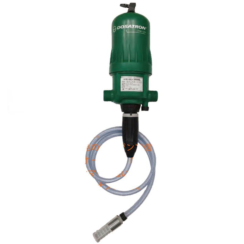 液肥混入器 ドサトロン DR09GL 取付口径40mm 流量1時間150L 電源不要 ウォーターハンマーに強い 北別 サンホープ カ施 代引不可
