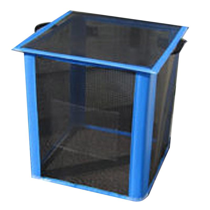 ゴミ枠ステーション 黒 GS-B-250 60x60x70 約250L カラス対策 折って畳んでコンパクト アイベックス 共B 代引不可 個人宅配送不可