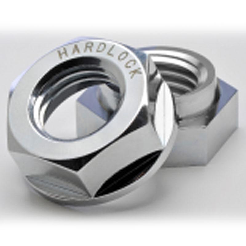 ハードロックナット 1000個入 HLN-R-1.0 スタンダード リム付 M6 ピッチ1.0 SUS304または相当 ゆるみ止 ナット ハードロック工業 コT 代引不可