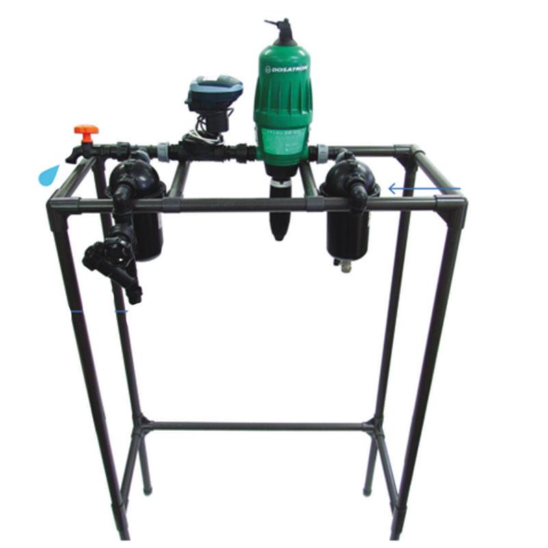 養液栽培用キット 肥家効蔵 ドサトロンDR06GLタイプ DFKIT20N-SP1 通水と施肥切り替え可能 薬液システム 北別 サンホープ カ施 代引不可
