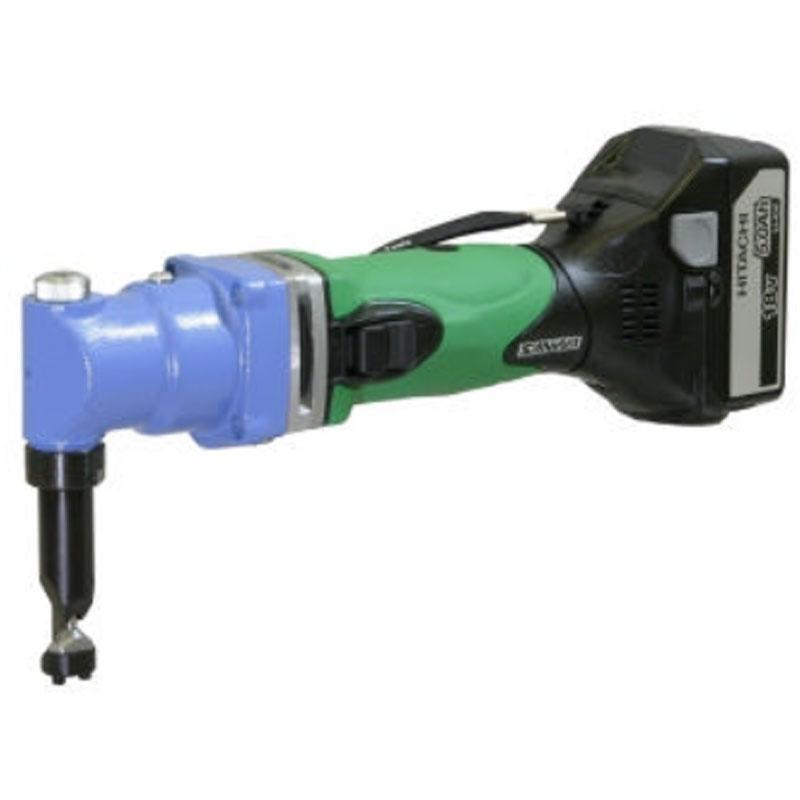 板金ハサミ 電動 ハイカッタ コードレスタイプ SG-18 000-730 Aセット 充電器 電池パック2個付 サンワ T儀 代引不可