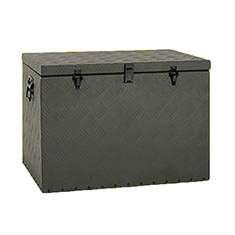 【代引不可】【北海道配送不可】 トラック用 万能アルミボックス グリーン BXA065GR 荷台用道具箱 アルミ製 アルインコ