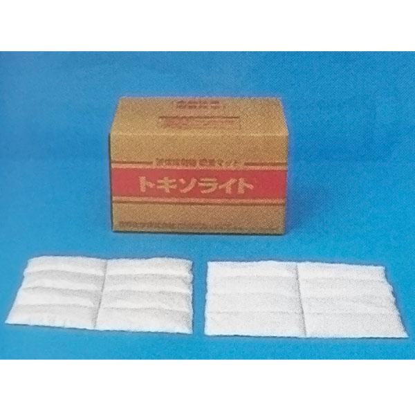 油吸着材 タフネル オイル ブロッター トキソライト ピロー状 20袋 40×60cm 液体毒劇物対応 油 回収 三井化学 共B 代引不可
