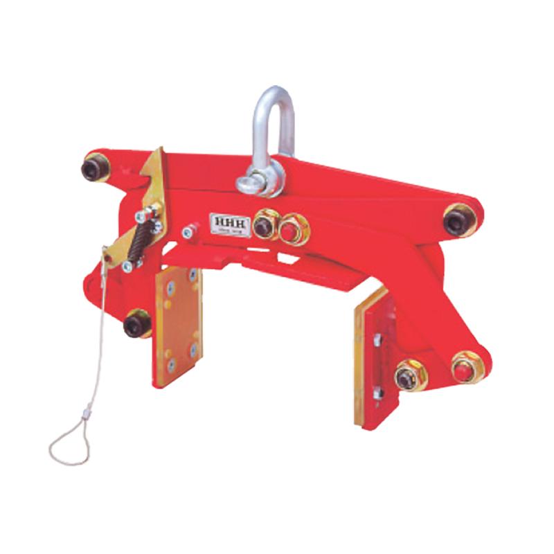 木材クランプ MO190 特殊ウレタン装着 片側スパイク取付 A 305-405 mm B 250-420 mm C 550-270 mm D 0-190 mm E 16 mm スリーエッチ HHH H