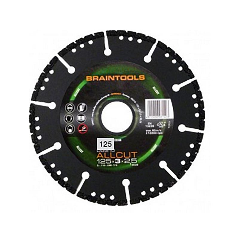 ディスクグラインダー オールカットアトム 三富D コンクリート ダイヤモンドディスク 乾湿両用 用 鉄 ローデウス 125×2.5×22(20)