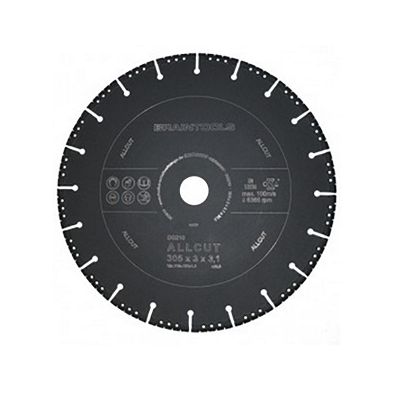 ディスクグラインダー 用 オールカットアトム ダイヤモンドディスク 305×3.1×30.5(25.4/22) コンクリート 鉄 乾湿両用 ローデウス 三富D
