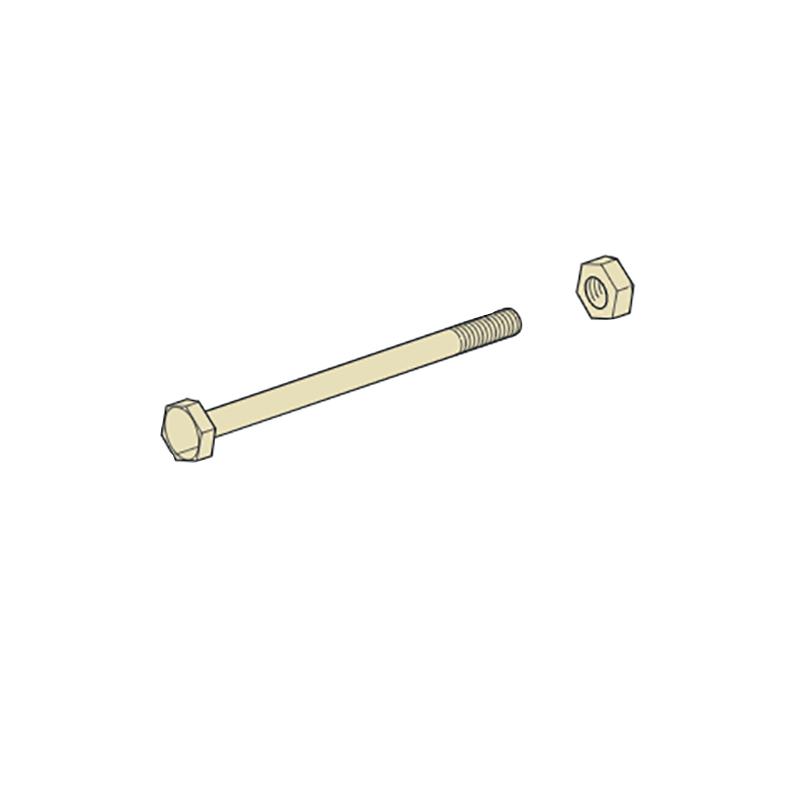 【代引不可】【100本】 カネシン 六角ボルト M12×300 Zマーク 軸組工法用 アミ