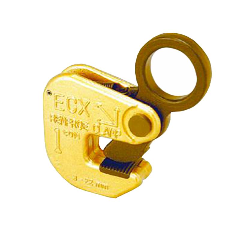 高質 使用有効寸法 ロックスプリング付 ECXタイプ ECX2 横吊り専用クランプ 使用荷重 コT:プラスワイズ建築店 2t 【】日本クランプ 小型 3~25mm 軽量-DIY・工具
