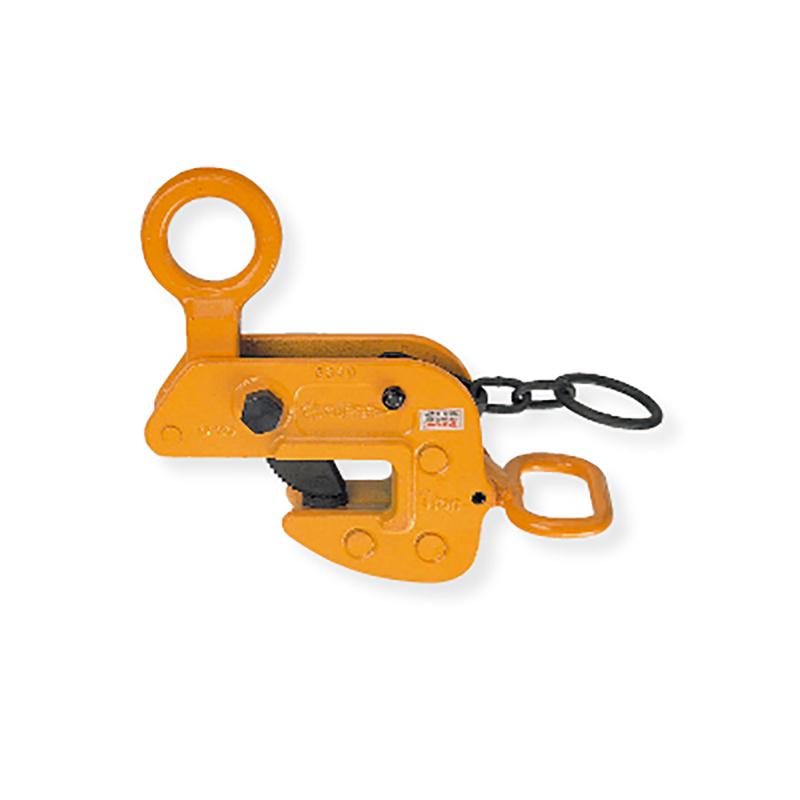 【代引不可】スーパーツール 横吊クランプ HLC-H型 ロックハンドル式 H形、I形、T形、L形、平鋼板のクランプ HLC1H 容量1t クランプ範囲0~30mm コT