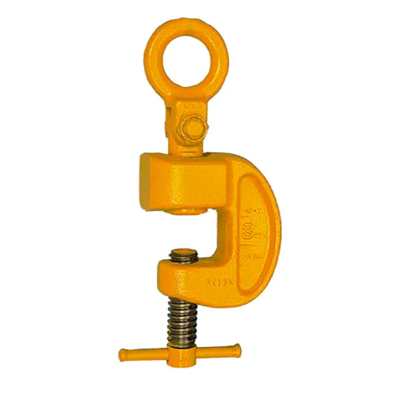 【代引不可】三木ネツレン 引張クランプ HP-Y型 HPY1S5 使用荷重1.5t クランプ範囲0~30mm 横吊り・引張など作業用途によって多目的に利用できる コT