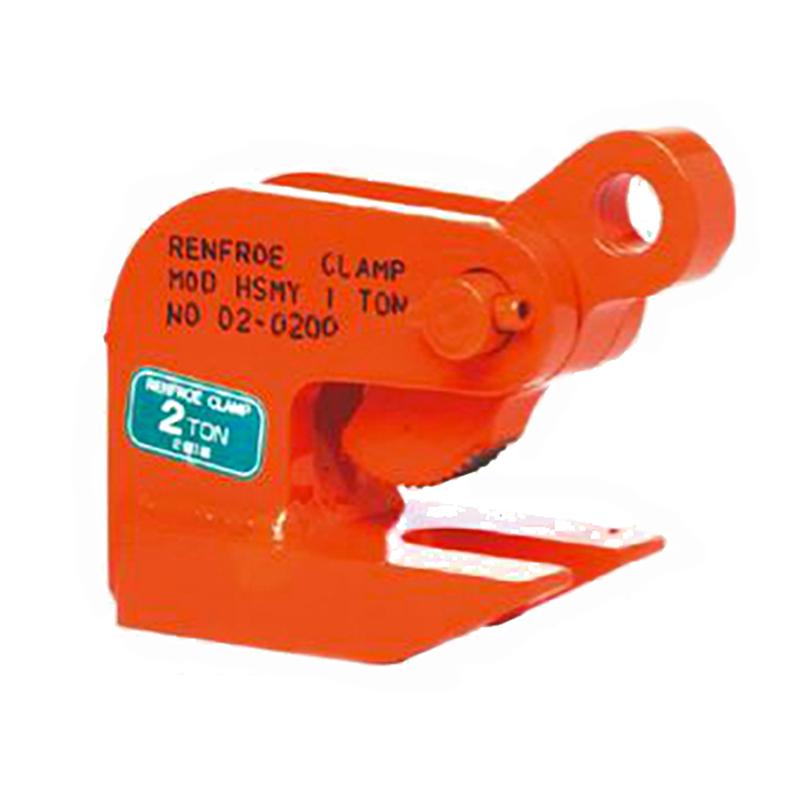 【代引不可】【受注生産1ヶ月】 日本クランプ 【2個】横吊り専用クランプ HSMYタイプ HSMY3 使用荷重 3(1.5×2個)t 使用有効寸法 3~40mm コT
