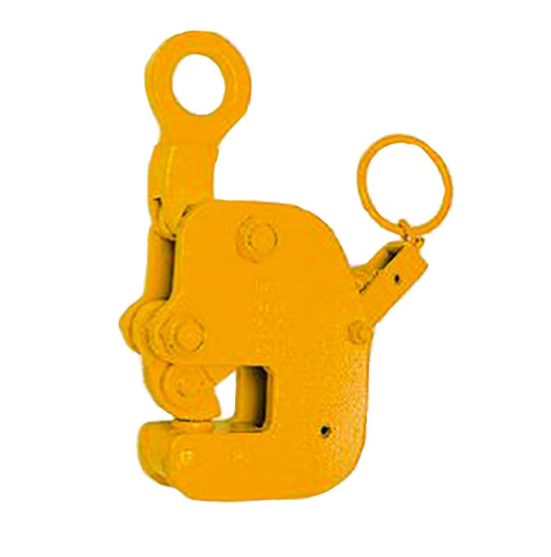 【代引不可】三木ネツレン 縦吊り・横吊兼用クランプ HV-G型 手動ロック式 HVG3 使用荷重3t クランプ範囲0-40mm フェイス巾の短いものを吊るのに最適 コT