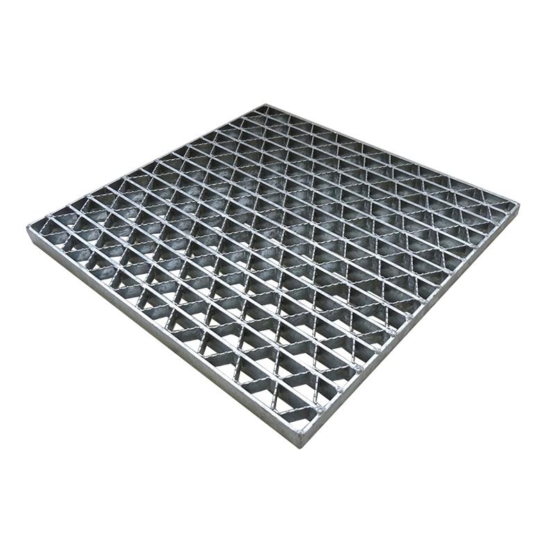 【代引不可】【代引不可・受注品2~4週間】 ユニバーサルデザイン グレーチング ステンレス 正方形 ますぶた 歩道用 UKFCS 15-45 ます穴(幅450×長さ450mm) カワグレ
