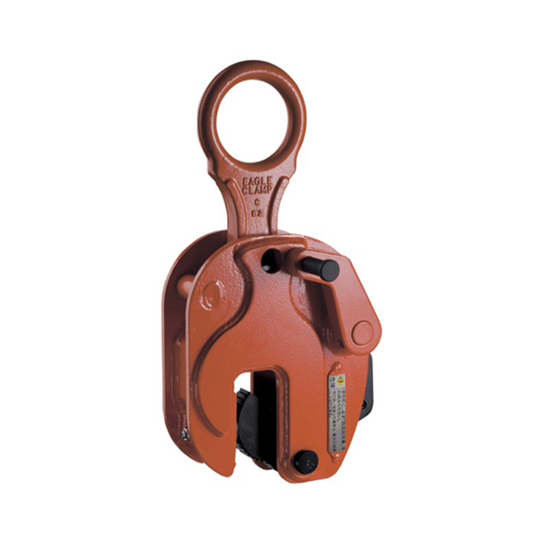 【】イーグルクランプ 鋼板縦つり用クランプ RS型 作業性抜群、簡単レバー操作の開放ロック機構 RS01使用荷重最小~最大 200~1000kg コT