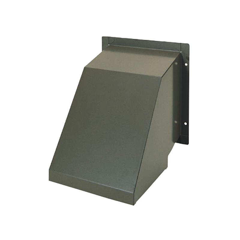 【代引不可】カネシン シロッコファン用フード (ダンパー付) アイボリー 235×215×220mm SF-150-FD [丸ダクト(φ150)接続用外部フード] 180440 カネシン アミ