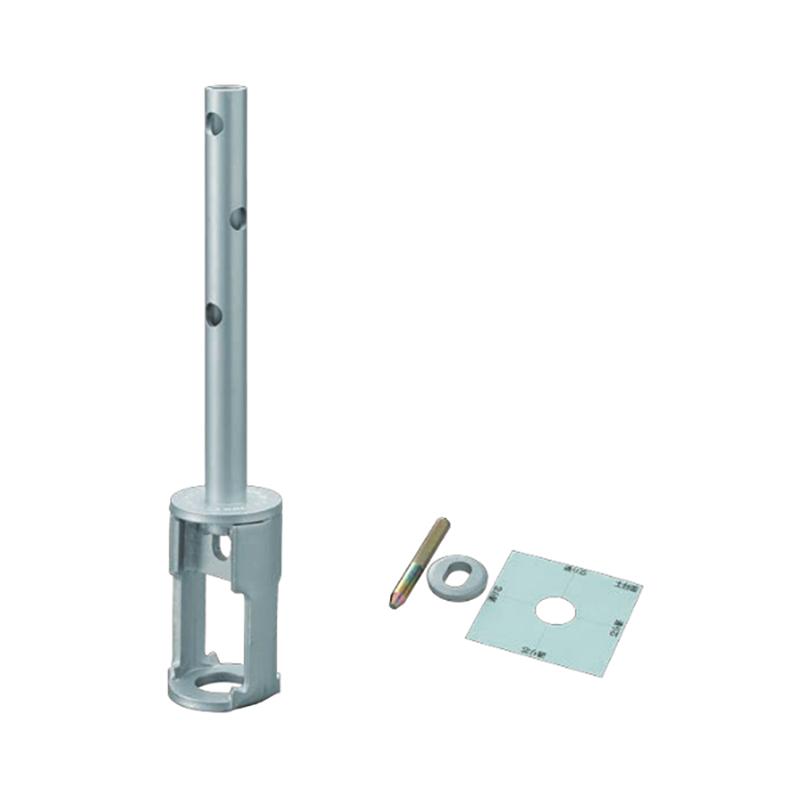 【代引不可】【5個】 カネシン 金物工法 プレセッター柱脚金物(一体型) プレセッター SU用 PS-OPSU(105用) ブロイズ [基礎と柱の緊結に] アミ