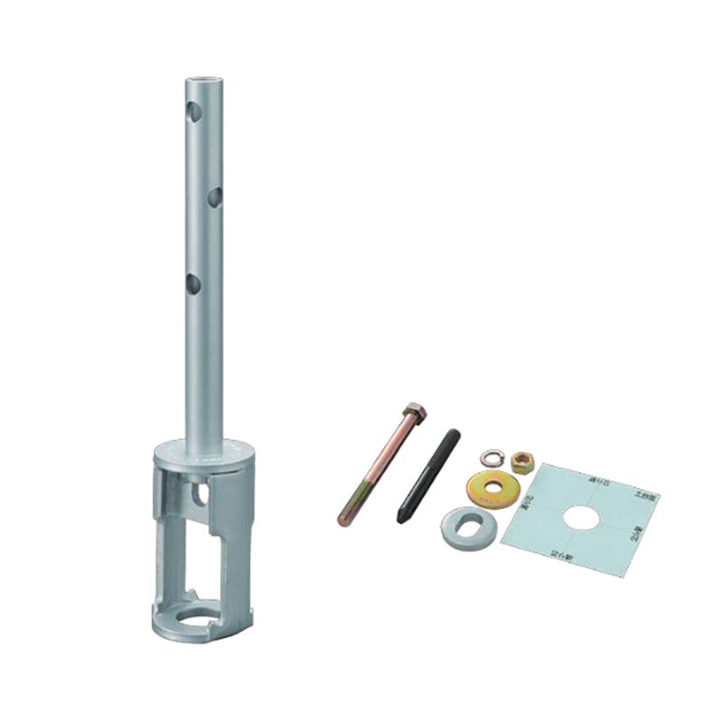 【代引不可】【5個】金物工法 プレセッター柱脚金物(一体型)プレセッター/プレセッタータイプM用 PS-OP(120用) ブロイズ 基礎と柱の緊結に 307965 カネシン アミ